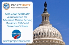 """Cloud First"" FedRAMP Authorization for Project Server, Dynamics CRM and SharePoint"