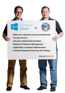 Microsoft Azure + Project Hosts = True Cloud Security